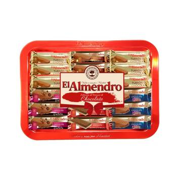 "ASSORTMENT OF CHOCOLATE TURRON ""EL ALMENDRO"" (375 G)"