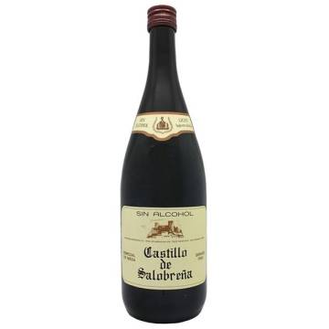 "REFRESHING GRAPE DRINK WITHOUT ALCOHOL ""CASTILLO DE SALOBREÑA"""