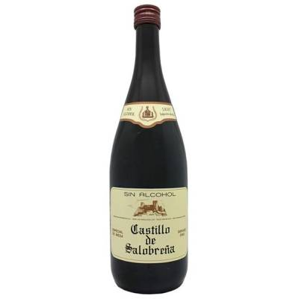 """REFRESCO MOSTO DE UVA -TINTO SIN ALCOHOL- """"CASTILLO DE SALOBREÑA"""""""