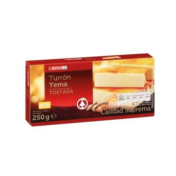 TOASTED EGG YOLK NOUGAT 250G SPAR