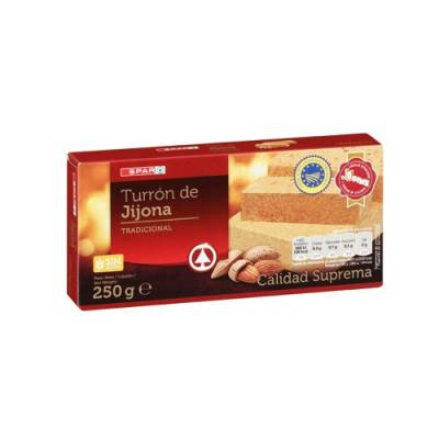 SOFT ALMOND NOUGAT FROM JIJONA 250G SPAR