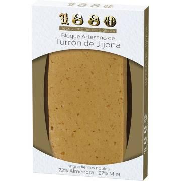 "HANDMADE SOFT ALMOND TURRON JIJONA ""1880"" (220 G)"
