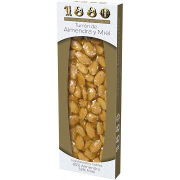 "HANDMADE ALMOND NOUGAT WITH HONEY ""1880"" (200 G)"