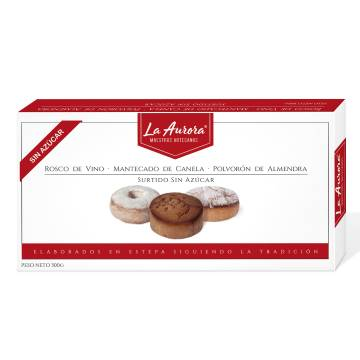 "ASSORTED SWEET CHRISTMAS WITHOUT SUGAR ""LA AURORA"" (300 G)"