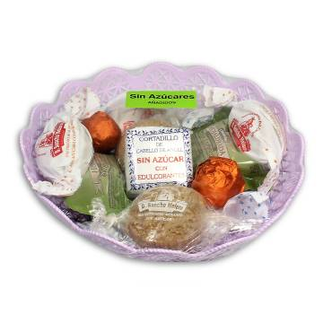 """ASSORTED SWEET CHRISTMAS WITHOUT SUGAR """"DON SANCHO MELERO"""" (300 G)"""