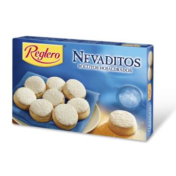 "NEVADITOS ROUNDED PUFF PASTRIES COVERED WITH SUGAR ""REGLERO"" (500 G)"