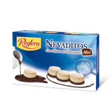 """NEVADITOS DE HOJALDRE CON AZÚCAR GLAS Y CHOCOLATE """"REGLERO"""" (500 G)"""