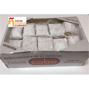 "PUFF PASTRY WITH SUGAR ""COBO"" (550 G)"