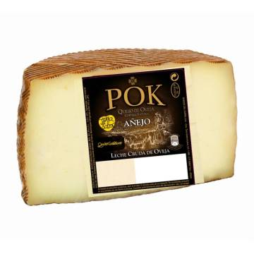 HALF CURED SHEEP CHEESE POK APPROX. 1.5KG GARCIA BAQUERO