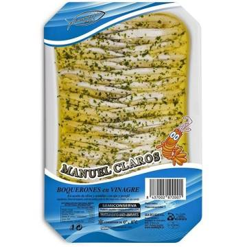 "ANCHOVY IN VIRGIN OLIVE OIL ""MANUEL CLAROS"""
