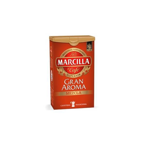 CAFÉ MOULU MÉLANGE GRAN AROMA 250G MARCILLA