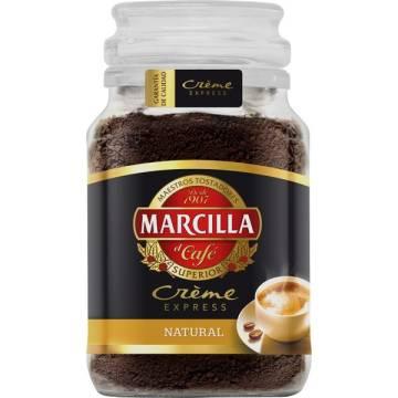 CAFÉ SOLUBLE NATUREL CRÈME EXPRESS 200G MARCILLA