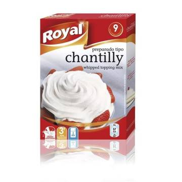 "CRÈME CHANTILLY ZUBEREITUNG ""ROYAL"""
