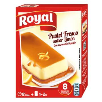 PASTEL FRESCO SABOR LIMON ROYAL