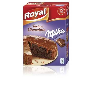 "TARTA DE CHOCOLATE MILKA ""ROYAL"""