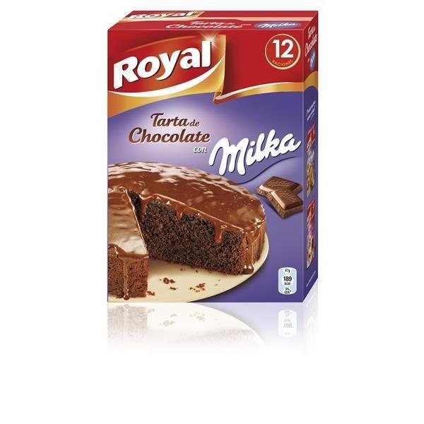 "TARTA DE CHOCOLATE MILKA ""ROYAL"""
