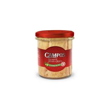 "WHITE TUNA LOINS EXTRA IN OLIVE OIL ""CAMPOS"""