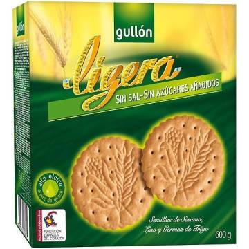 "LIGHT BISCUITS MARIA WITHOUT SUGAR ""GULLÓN"" (600 G)"