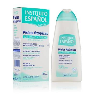 GEL BAÑO PIELES ATOPICAS 500 ML INSTITUTO ESPAÑOL