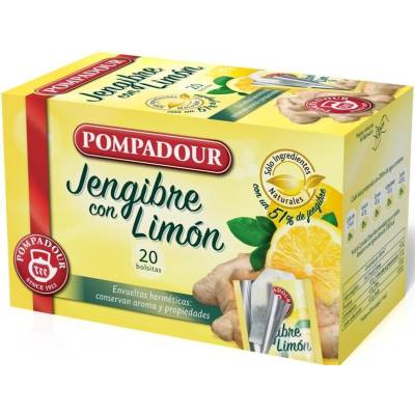 JENJIBRE CON LIMON POMPADUR