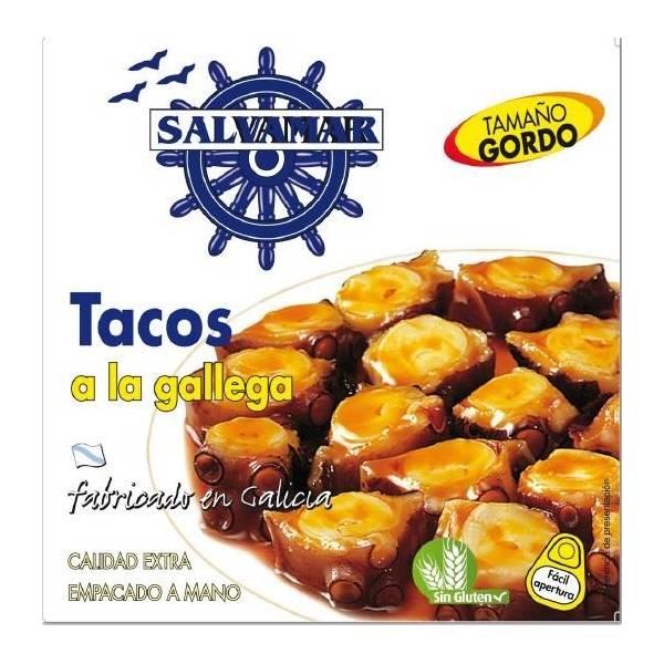 TACOS A LA GALLEGA (SALVAMAR) Fabricado en Galicia