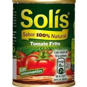 Tomate frito SOLIS 140g.