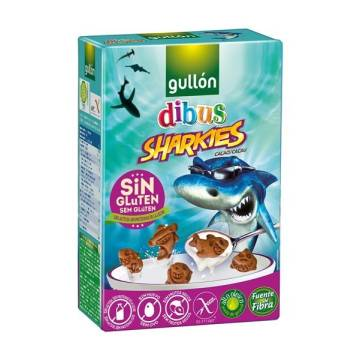 GALLETAS SIN GLUTEN SHARKIES GULLON