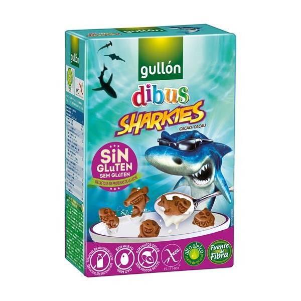 GALLETAS SIN GLUTEN SHARKIES GULLON