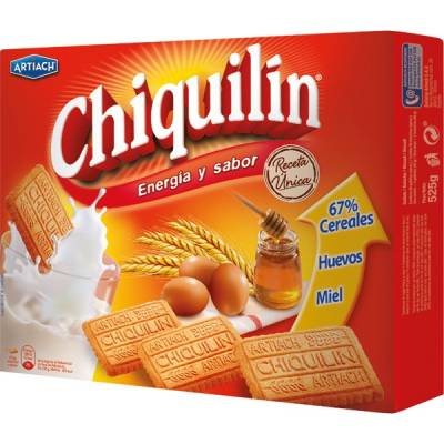"BISCUITS CHIQUILÍN ""ARTIACH"" (525 G)"