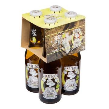 CIDER WITH PEAR 4X20 CL ​​MAELOC