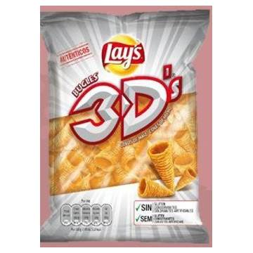 BUGLES 3D CORN CONE APPETIZER