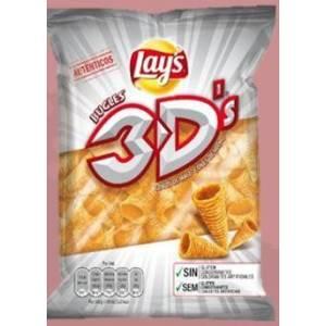 3D'S Bugles Conos de maíz LAY'S 100g.
