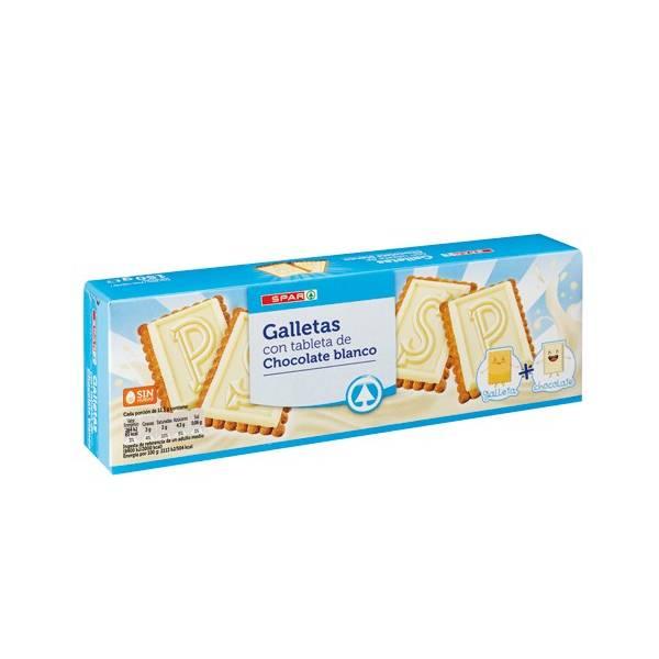 GALLETAS CHOCOLATINA BLANCA SPAR