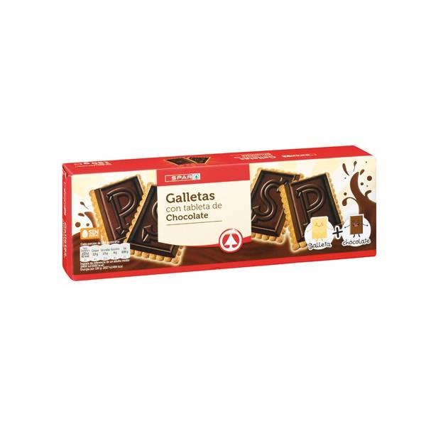 GALLETAS CHOCOLATE PURO SPAR
