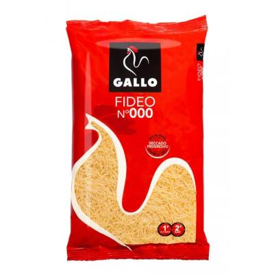 "DÜNNE SUPPENNUDELN N-000 250G ""GALLO"""