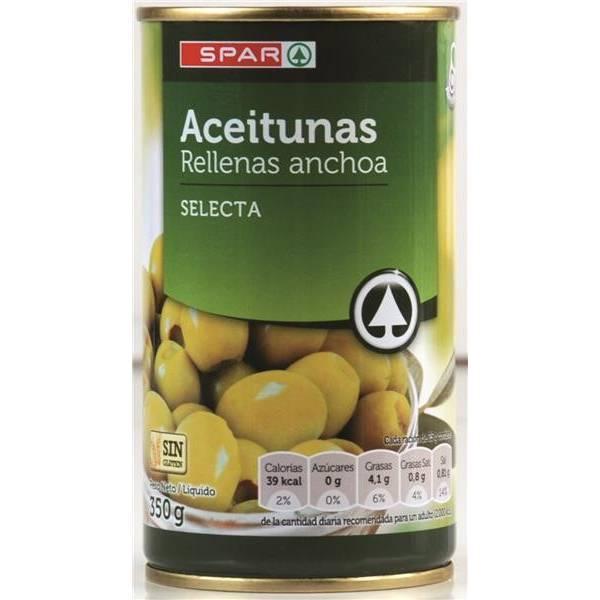 ACEITUNAS RELLENAS ANCHOA SELECTA