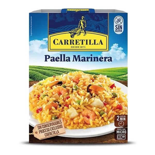 Paella mit Meeresfrüchten CARRETILLA 250g.