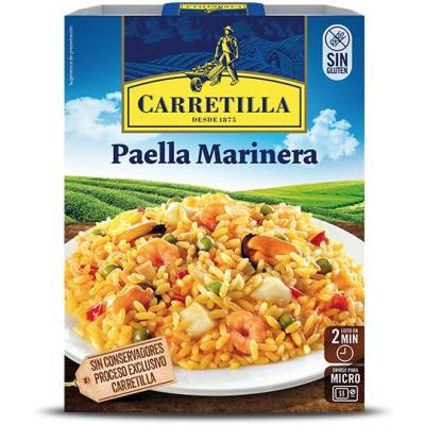 PAELLA MARINERA CARRETILLA