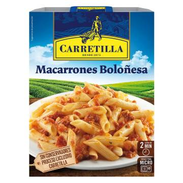 MACARRONES BOLOÑESA CARRETILLA