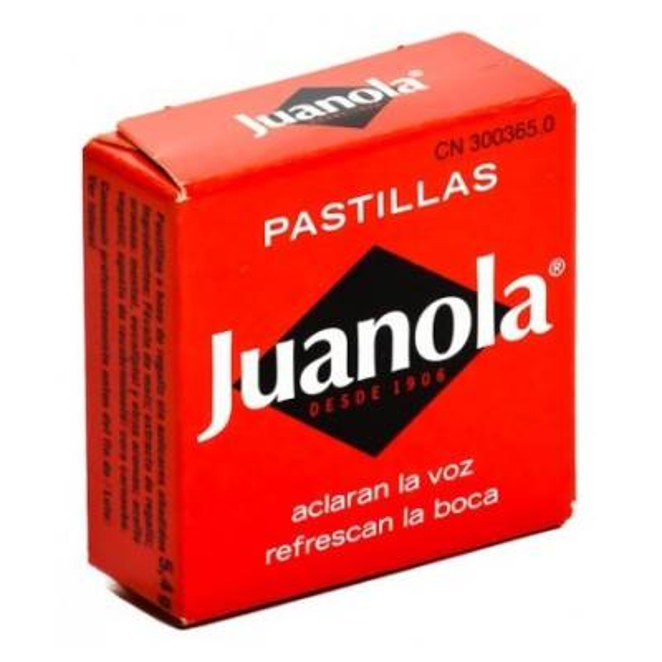 PASTILLAS DE REGALIZ JUANOLA (5,4 g)