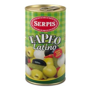 TAPEO ACEITUNA Y ENCURTIDO SERPIS