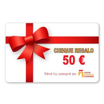 Geschenkgutschein 50 €