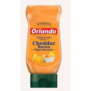 CHEDDAR AND BACON SAUCE 235G ORLANDO