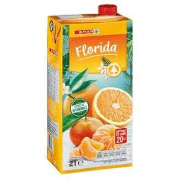 ORANGE AND TANGERINE NECTAR 2L SPAR