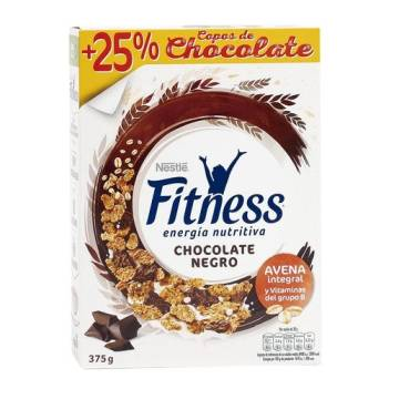 "CEREALES CON CHOCOLATE NEGRO FITNESS ""NESTLÉ"""
