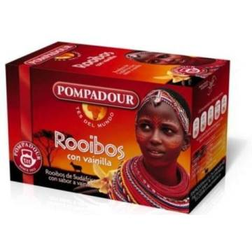 "ROOIBOS TEA WITH VANILLA ""POMPADOUR"""
