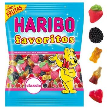 "JELLY CANDIES CLASSIC FAVOURITES ""HARIBO"""