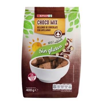 CEREALES RELLENO DE CHOCOLATE CON AVELLANAS SPAR