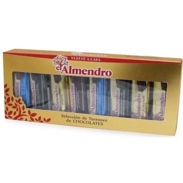 TURRÓN CHOCOLATE SURTIDO EL ALMENDRO 176 GR