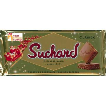 CRUNCHY CHOCOLATE NOUGAT 260G SUCHARD